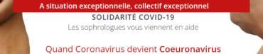 COVID-19 : Solidarité et soutien gratuit !<br />Les sophrologues vous viennent en aide